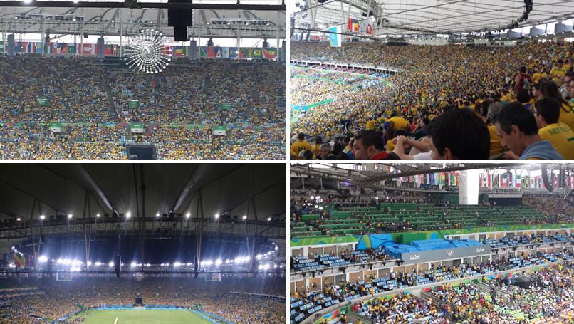 0e25039f7b Público no Maracanã durante a final olímpica do futebol masculino (fonte   arquivo pessoal)
