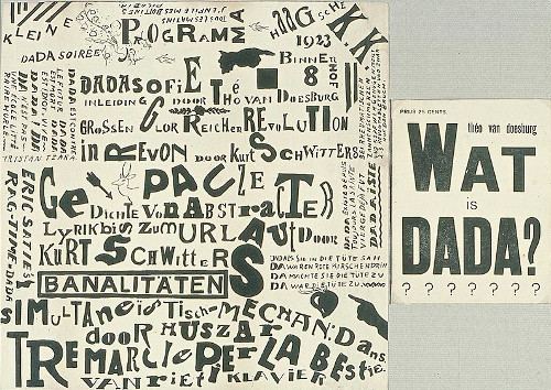 Obra dadaísta feita na Holanda entre 1922 e 1923.