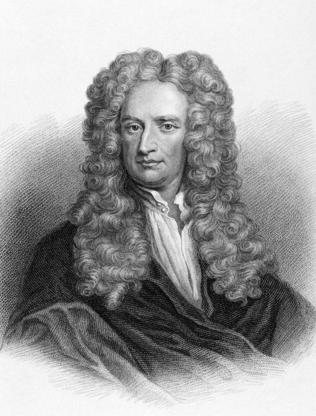 Isaac Newton, um dos maiores cientistas de todos os tempos.