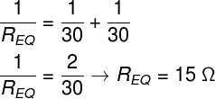 Cálculo da resistência equivalente – exercício