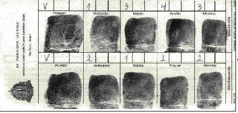 Ficha de identificação