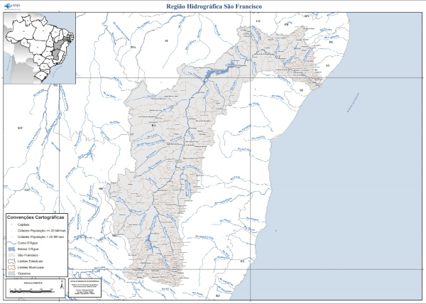 Região hidrográfica do Rio São Francisco