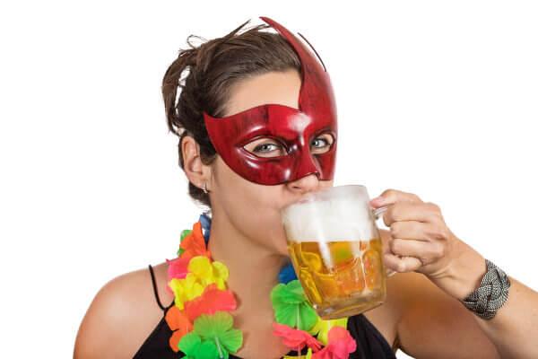 Carnaval e bebida