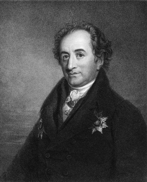 """Johann Wolfgang von Goethe é um dos grandes nomes do Romantismo alemão e o autor de """"Os sofrimentos do jovem Werther""""."""