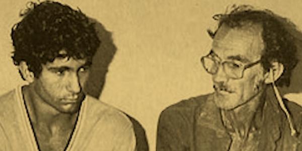 Darci (esq.) e Darly Alves (dir.) foram responsáveis pela morte de Chico Mendes (Crédito: Reprodução: Genésio - um pássaro sem rumo: a única testemunha do assassinato de Chico Mendes.)