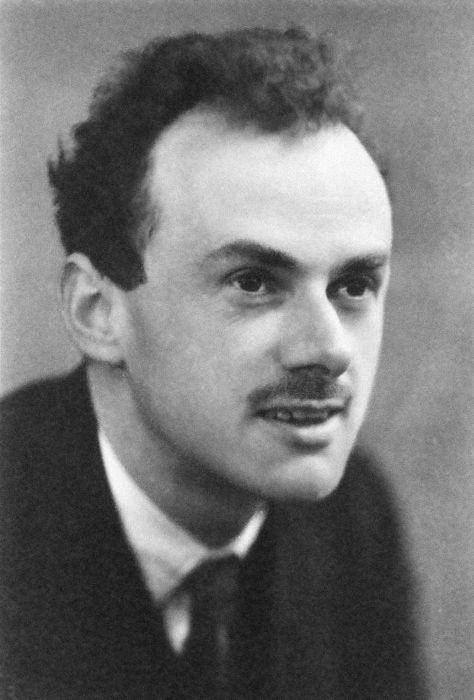 Dirac descobriu a existência da antimatéria.