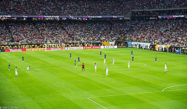 EUA x Argentina na Copa América Centenário 2016, realizada nos Estados Unidos Crédito: J Dimas