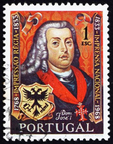 A administração pombalina aconteceu durante o reinado de D. José I. (Créditos: Boris 15 e Shutterstock)
