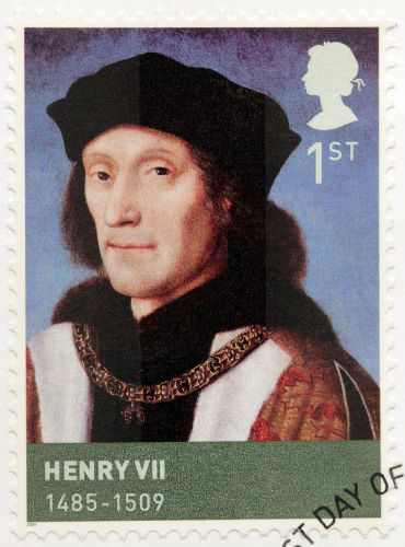 Henrique Tudor foi coroado rei da Inglaterra como Henrique VII em 1485.*