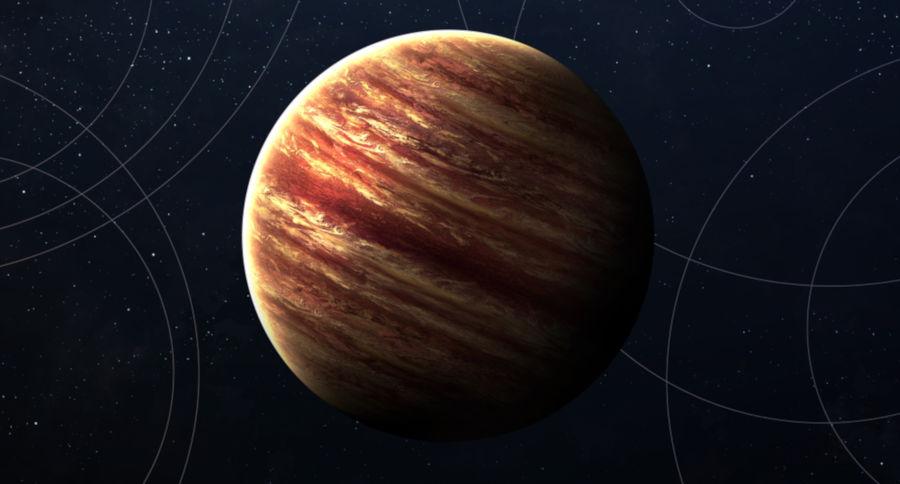 Júpiter é conhecido como o Gigante Gasoso.