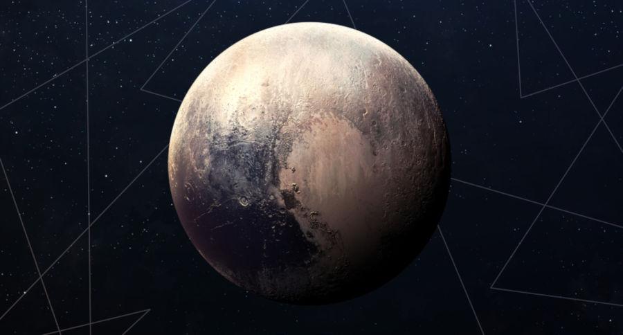 Plutão não é mais considerado um planeta.