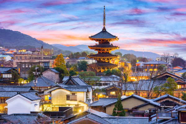 Quioto é uma das prefeituras do Japão e a antiga capital do país.