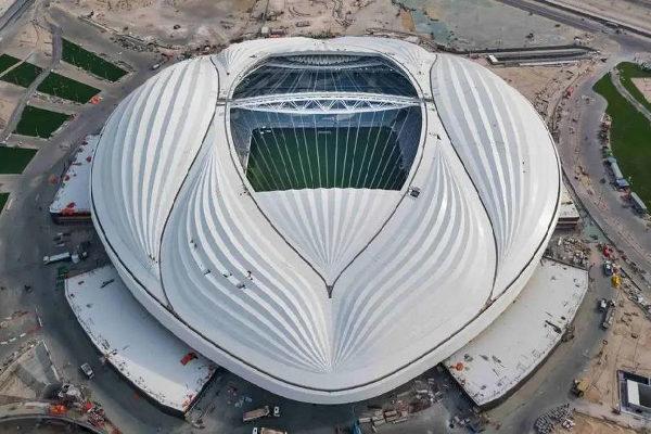 Estádio Al Wakrah: primeiro estádio da Copa do Catar a ficar pronto. (Crédito: Divulgação Supreme Committee for Delivery & Legacy)