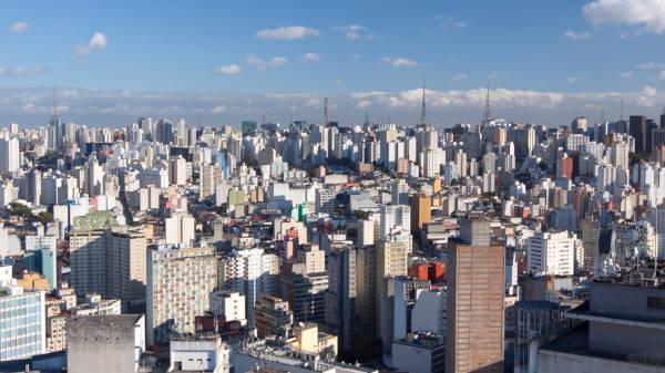 São Paulo é a cidade com maior concentração urbana do Brasil.