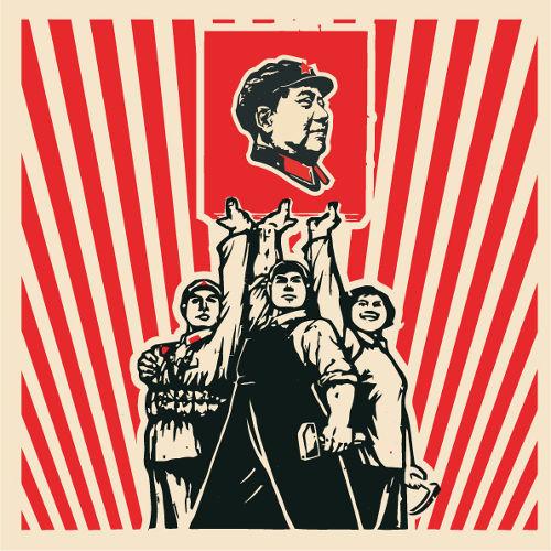Durante a Revolução Cultural Chinesa (1966-76), Mao convocou os jovens a perseguir seus opositores.