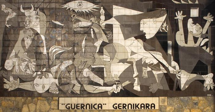 O quadro La Guernica é o principal de Pablo Picasso. [5]