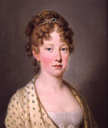 D. Maria Leopoldina, esposa de d. Pedro I, teve grande influência na independência do Brasil.[1]