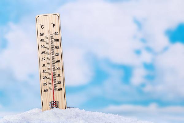 O zero absoluto é a menor temperatura teórica.
