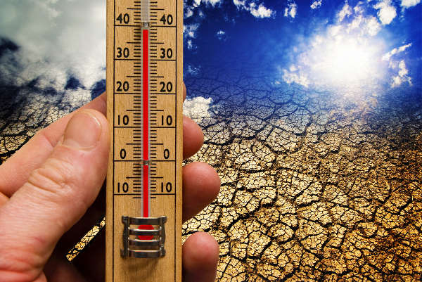 O aumento nas temperaturas iniciou-se especialmente no período Pós-Revolução Industrial.