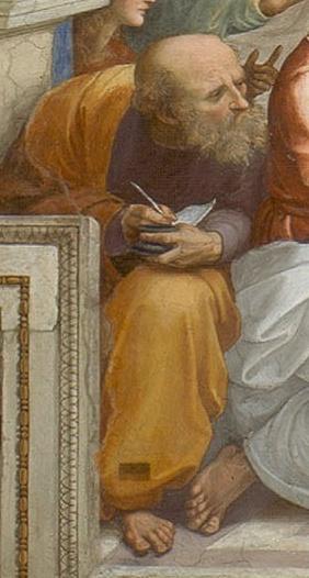 Anaximandro de Mileto, discípulo de Tales e, provavelmente, o segundo filósofo da escola jônica.
