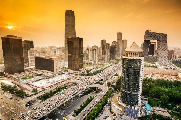 Pequim é uma das maiores metrópoles do mundo.