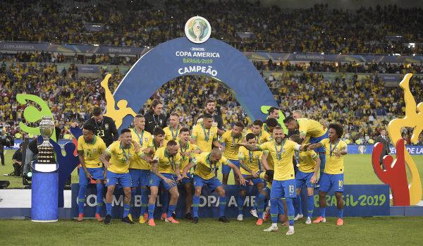 Seleção Brasileira conquista 8º título da Copa América, em 2019, no Maracanã. [9]