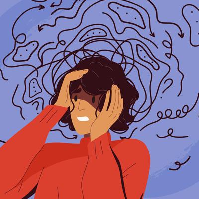 pessoa com ansiedade
