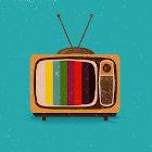 Ilustração de TV