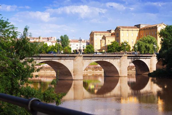 Cidade de Logroño, na Espanha
