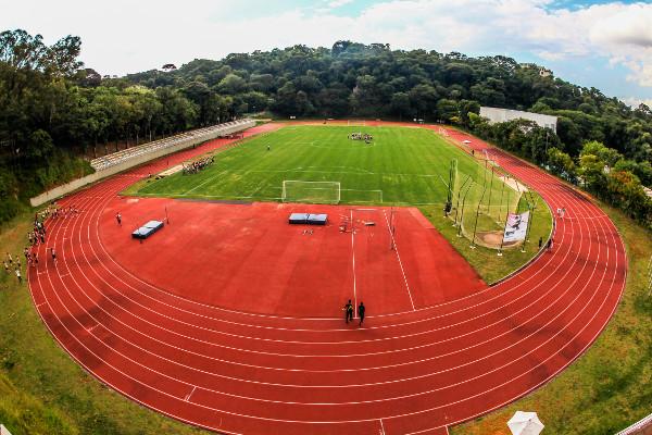 Complexo esportivo da PUC Minas - Crédito: divulgação PUC Minas