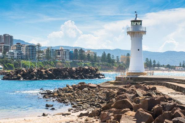 Cidade de Wollongong, na Austrália