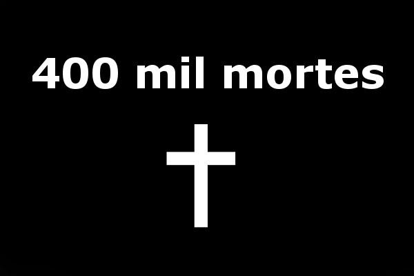 Brasil ultrapassou a marca de 400 mil mortes por covid-19 em abril