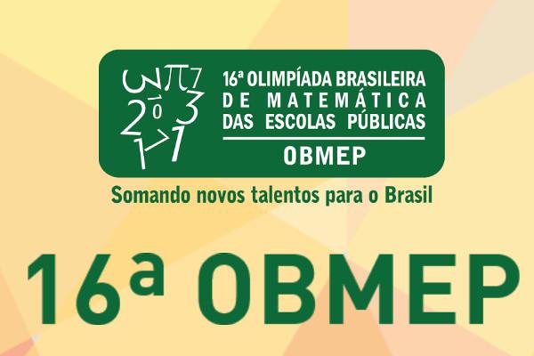 Crédito da Imagem: 16ª OBMEP