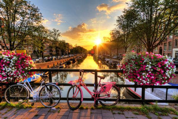 Amsterdã, na Holanda