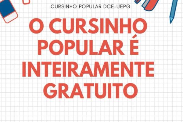 Crédito: Divulgação/Cursinho DCE